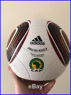Adidas Jabulani ANGOLA SPEEDCELL Matchball OMG 2010 NEU OVP