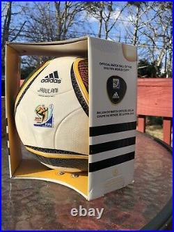 Adidas Jabulani Fifa World Cup 2010 Official Match Ball OMB Rare Original Box