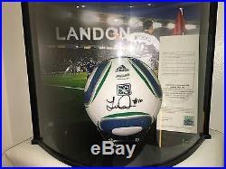 Adidas Jabulani MLS Match Soccer Ball London Donovan Signed Limited Edition Sz 5