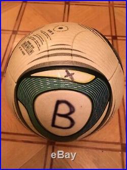 Adidas Jabulani used ball Omb Match Ball FIFA SPEEDCELL foot golf size 5