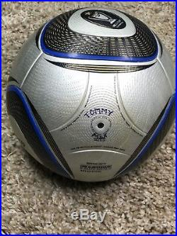 Adidas MLS Final silver bullet Jabulani Matchball Only Used ONE TIME Speedcell