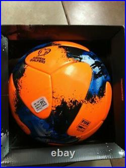 Adidas Match Ball European Qualifier Winter Orange Ball WC 2018 art AO4840 Box