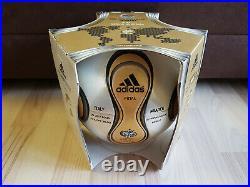 Adidas Match Ball Teamgeist Gold WC 2006 Germany Final Imprint NEU BOX Terrapass