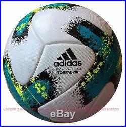 Adidas Match Ball Torfabrik 2017 Bundesliga German Match Ball Authentic Bs3516