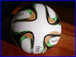 Adidas Matchball Brazuca Rio OMB Final Ball World cup WM 2014 Brazil soccer Box
