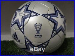 Adidas Matchball Finale 7 Athens Champions League mit Box Teamgeist Ball RAR