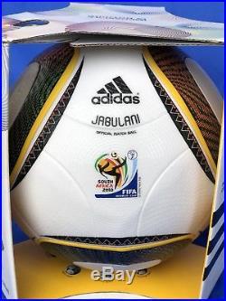 Adidas Matchball Jabulani FIFA WM South Africa 2010 NEU/ NEW Gr. 5 Raritet