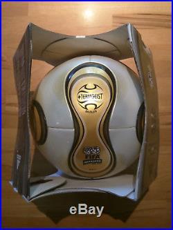 Adidas Matchball Teamgeist Gold Berlin Finale WM Weltmeisterschaft 2006