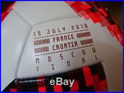 Adidas Matchball Telstar France Croatia OMB finale WM ball world cup soccer
