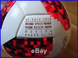 Adidas Matchball Telstar Russia Spain print OMB finale ball world cup soccer