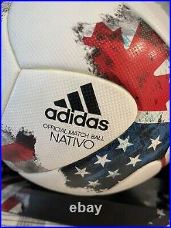 Adidas Mls 2017 Nativo Official Match Ball Size 5