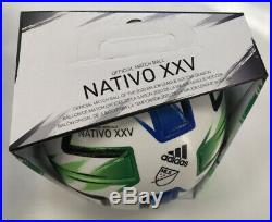 Adidas NATIVO XXV Pro Major League Soccer OMB in Gr. 5 in Geschenkkarton