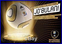 Adidas Official Match Ball Jo'bulani Jobulani Jabulani 2010 World Cup Final Bnib