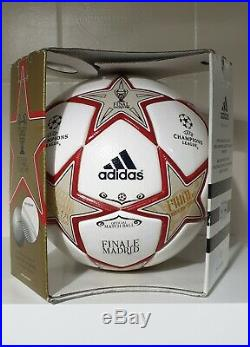 Adidas Official Match Ball OMB Champions Finale 2010 Madrid Collector