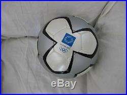 Adidas Pelias Ball. Olympic Games Athens 2004. Balón Olimpiadas Juegos Olimpicos