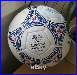 Adidas Questra Europa 1996. Euro 1996. Balón Questra Europa 1996 Eurocopa