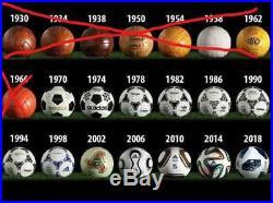 Adidas Soccer Football FIFA World Cup Mini Ball 1970 2018 Rare Item