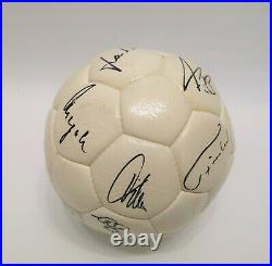 Adidas Super Chile Durlast 1978 Fussball matchball / signiert Nationalmannschaft