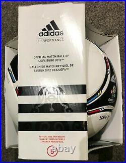 Adidas TANGO 12 With sponsor logo OFFICIAL MATCH BALL EURO 2012 Jabulani s5