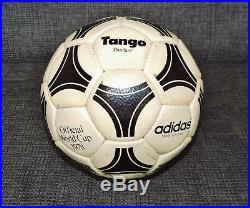 Adidas Tango Durlast 1978 official world cup ball matchball 40 Jahre alt