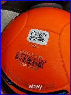 Adidas Tango EURO 2012 Winter X17806 soccer ball power orange FIFA OMB size 5