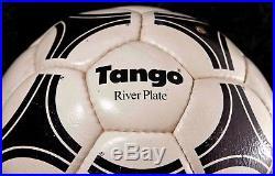 Adidas Tango Riverplate vintage football Azteca, Etrusco, Questra design