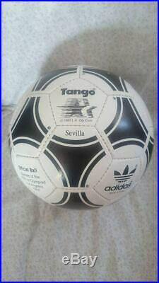 Adidas Tango Sevilla Ball. Olympic Games 1984 Los Angeles. Balón Olimpiadas