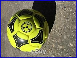 Adidas Tango espana 1982 World cup ball Yellow + original box and needle
