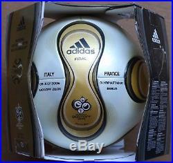 Adidas +Teamgeist 2006 World Cup Final Berlin match ball France Italy 7/9/2006