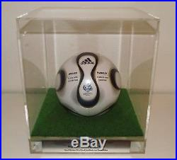 Adidas Teamgeist 2006 matchball world cup 1st game England Paraguay match used