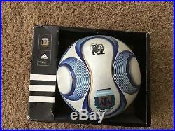 Adidas Teamgeist 2 Argentina Argentum Official Match Ball Super Rare Footgolf