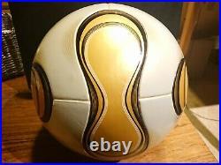 Adidas Teamgeist Final Berlin WM World Cup 2006 OMB Matchball KICK-OFF Imprint