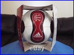Adidas Teamgeist Red 2007 Official Match Ball. BNIB