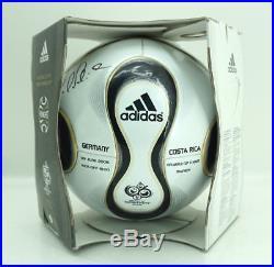 Adidas Teamgeist WM 2006 Spielball Eröffnungsspiel signiert Bernd Schneider