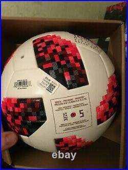 Adidas Telstar 18 FIFA World Cup 2018 Russia Knockout Official Match Ball size 5