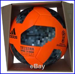 Adidas Telstar 18 Winter Fifa World Cup Russia 2018 Soccer Match Ball+box