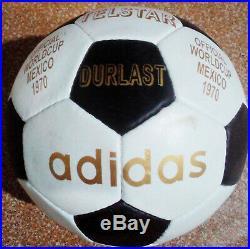 Adidas Telstar Durlast 1970 Mexico FIFA Worldcup Official Soccer Match Ball