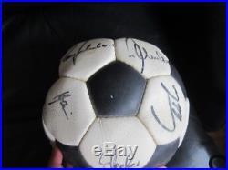 Adidas Telstar Durlast Matchball OMB Ball 72 73 Made in France rare Pre WC WM 74