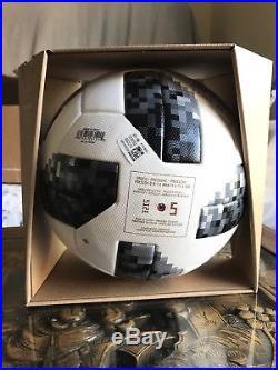 Adidas Telstar OMB Matchball FIFA World Cup 2018 Russia Football Soccer CE8083