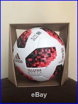 Adidas Telstar World Cup 2018 KO Russia Official Match Ball In Box With NFC Chip