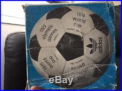 Adidas Telstar durlast official world cup 1974 Made in France with box