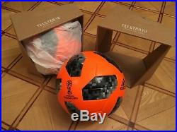Adidas Telstar winter official match ball with box 2018 OMB, size 5, CE8084 FIFA