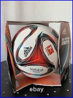 Adidas Torfabrik Matchball Spielball OMB 2014/2015NEU NEW Bundesliga wie Brazuca