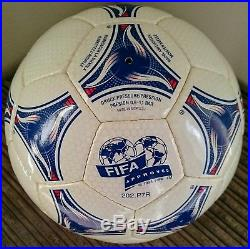 Adidas Tricolore FIFA Football World Cup 1998 France Official Match Ball OMB