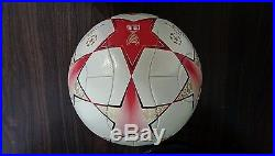 Adidas UEFA Champions League 2008 Finale Final MOSCOW Official Match Ball OMB