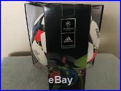 Adidas UEFA Champions League Final 2015 Berlin Match Soccer Ball Size 5