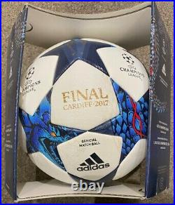 Adidas UEFA Champions League Final 2017 Cardiff official match ball size 5