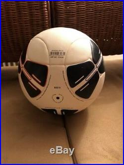 Adidas UEFA Super Cup OMB Monaco 12 mit Imprint & Autogramm