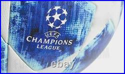 Adidas Uefa Champions League Official Match ball Size 5 Blue/White BRAND NEW
