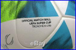 Adidas Uefa Super Cup 2016 Trondheim Authentic Match Ball Supercup Rare Item